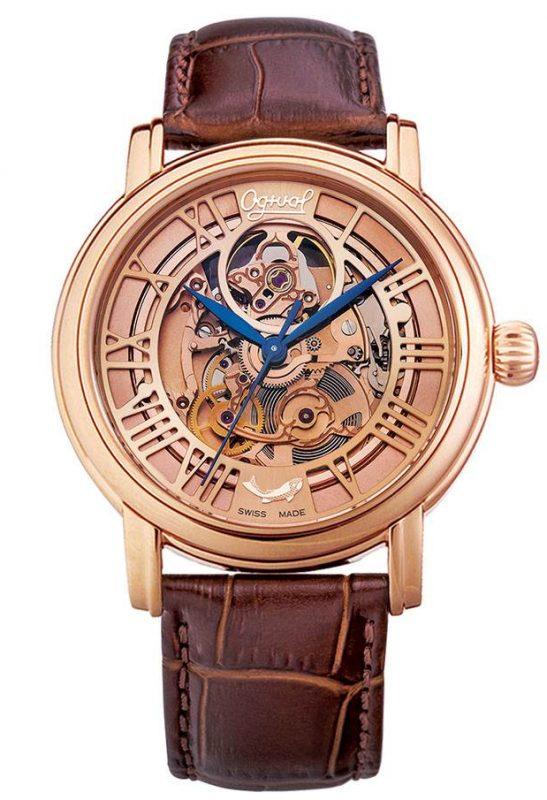 Đồng hồ nam Skeleton Ogival OG358.621AMR-GL